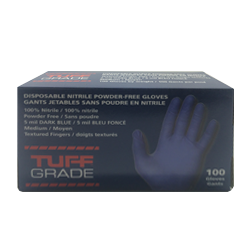 Protection nitrile glove